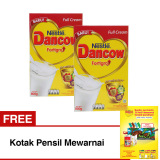 Harga Dancow Fortigro Full Cream 800 Gr Bundle Isi 2 Box Free Kotakpensil Pensil Mewarnai New