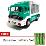Spesifikasi Daymart Toys Play Vehicles Truck Container Aquatic Animals Hijau Gratis Dynamax Baterai Set Yg Baik
