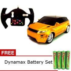Spek Daymart Toys Remote Control Range Rover Evoque Suv Car Gold