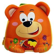 Spek Deerde Ransel Play Group 3D Bear Orange Deerde