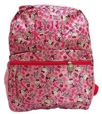 Spesifikasi Deerde Ransel Play Group Hello Kitty Satin Pink Merk Deerde