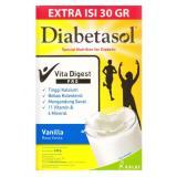 Spek Diabetasol Vita Digest Pro Special Nutrition For Diabetic 600 30Gr Vanilla Indonesia