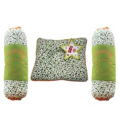 Dialogue Baby Perlengkapan Tidur Bantal Peang + Guling Set Bayi New Born Murah Print Polka -