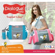 Dialogue Baby Tas Besar Simple Embro + TBSS Bee Series (DGT-7121)