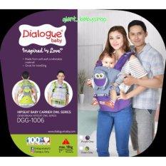 Dialogue GENDONGAN HIPSEAT DIALOGUE BABY DGG 1006 OWL SERIES