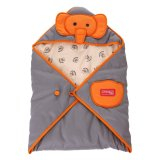 Diskon Dialogue Selimut Bayi Saku Cute Series Orange