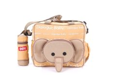 Jual Dialogue Tas Bayi Medium Tempat Botol Susu Cute Series Coklat Dialogue Baby Asli