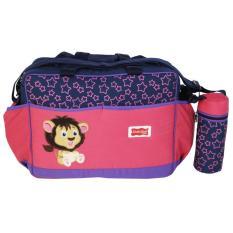 Beli Dialogue Tas Bayi Ukuran Besar Dengan Tempat Botol Susu Lion Series Pink Dialogue Baby Online