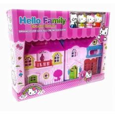 DIAMOND - HELLO FAMILY DREAM HOME HELLOKITTY