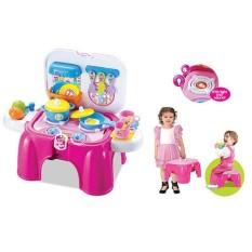 DIAMOND -  Mainan Masak-Masakan Kitchen Play Set Anak Bisa Jadi Bangku
