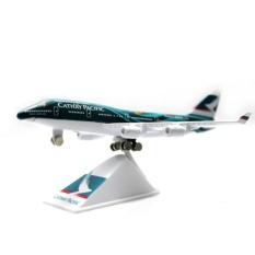 Harga Die Cast Miniatur Pesawat Cathay Pacific Boeing B747 Lengkap