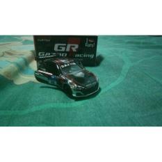 Diecast Custom Tomica Toyota 86 Gazoo Racing Chrome (Velg+Wing) 1:64 - Gyg21e