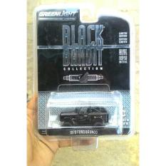 Diecast Ford Bronco 1970 Skala 64 Black Bandit By Greenlight - 5J3rsm