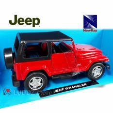 Toko Diecast Jeep Wrangler Newray 1 32 Replika Mobil Miniatur Die Cast Jeep