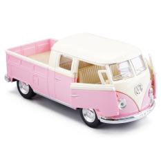 Jual Beli Diecast Kinsmart 1963 Volkswagen Bus Double Cab Pickup 1 36 Pink Di Jawa Timur