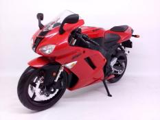 Diecast Miniatur Motor Sport / Moge Kawasaki Ninja ZX-6R Maisto 1:12