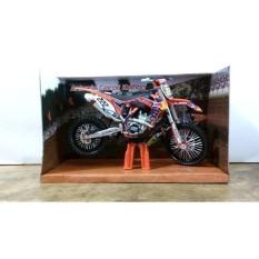 Diecast Miniatur Motor Trail KTM 350 SX-F Antonio Cairoli 2013