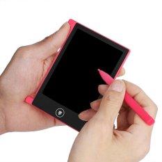 "Digital Portable 4.5 Inch Mini Panel LCD Tablet Menulis Gambar BOARD Bandung Photo: ""Dewasa Pink-Intl"