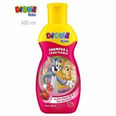 Dione Kids Shampoo & Conditioner Strawberry 180 ml
