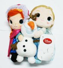 Disney Store Original Frozen Anna , Elsa and Olaf Dolls