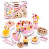 Jual Diy Fruit Cake Pink Besar Mainan Anak Perempuan Online