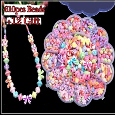 "DIY Kids Beads Colorful Acrylic Bead Bandung Photo: ""-anak Anak-anak Kerajinan Kalung And Gelang-Intl"