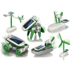 DIY Solar Robot 6 in 1 Mainan Edukatif Tenaga Surya