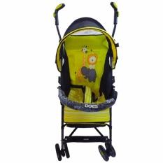Jual Does 202I Buggy Baby Stroller Kereta Dorong Bayi Kuning Does