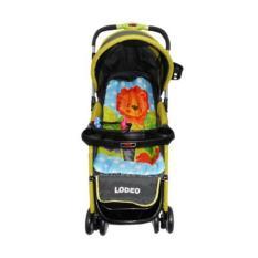 Does Lodeo DS-284 -  Baby Stroller / Kereta Dorong Bayi 3 in 1 - Hijau