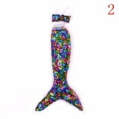 Dolls Party Dress Skirt Clothes For Barbie Doll Genuine Mermaid Tail Dress Baby Toy 2 24cm - intl