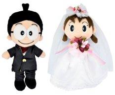 Harga Doraemon Nobita Shizuka Wedding Dress Branded