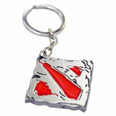 Harga Dota 2 Gantungan Kunci Dota 2 Keychain Dota 2 Logo Silver High Quality Baru Murah