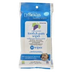 Jual Dr Browns Healthy Wipes Tooth Gum Wipes Murah