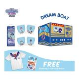 Spesifikasi Dream Boat Box Pokana Super Pants Boy L26 Isi 4 Free Matching T Shirt And Sticker Yg Baik