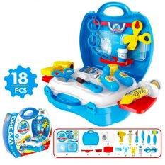 Dream Medical Mainan Koper Peran Dokter- Dokteran / Mainan Dokter Set  Mainan Edukasi Anak - 18 Item