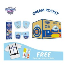 Toko Dream Rocket Box Pokana Premium Pants Boy Xl22 Isi 4¬Ý Free Matching T Shirt And Sticker¬Ý Dekat Sini