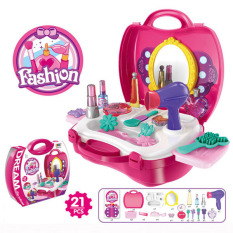 Dream Tool Mainan Anak Peralatan Make Up / Dream Fashion Kit Koper - Pink