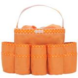 Toko Jual D Renbellony Diaper Caddy Organizer Orange Tas Organizer Bayi Tas Bayi Tas Perlengkapan Bayi