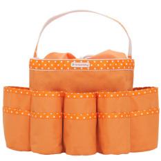 Dapatkan Segera D Renbellony Diaper Caddy Organizer Orange Tas Organizer Bayi Tas Bayi Tas Perlengkapan Bayi