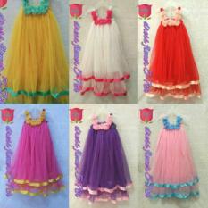 Dress Anak 4-7 Tahun Bunga Murah Jogja