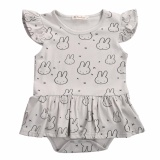 Beli Dress Baby Bunny Grey Terbaru