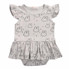 Jual Dress Baby Bunny Grey Termurah