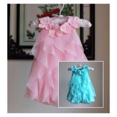 Beli Dress Bayi Motif Flower Summer 6 10 Bulan Yang Bagus