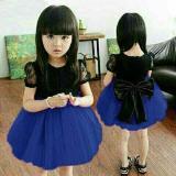 Spesifikasi Dress Cen2 Blue Kid Baju Anak 0108 Qjs Terbaik
