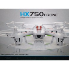 Drone Mini Hx750 6 Channel Remote Control Quadcopter Headless Mode By Original.