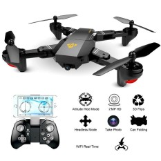 Drone VISUO XS809HW-HD-G Camera HD 2MP WIDE ANGEL 120 Altitude Hold