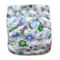 Dsstyles Kidlove Bayi Bayi Lucu Cetak Bisa Dicuci Lembut 3 Struktur Lapisan Kain Popok Celana dengan Tempatkan Penutupan, dapat Disesuaikan 3 Ukuran, Anti-Air Gaya: Sebuah