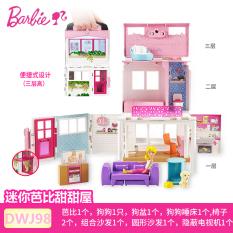 BARBIE Mainan Replika Vila Mobil