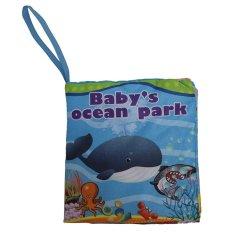EELIC BU205X1 Fungsi Bunyi Buku Bayi Mainan 6 Macam Pilian Alphabet Person Ocean Farm Animal Orchard