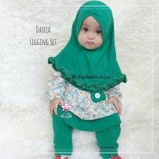 eLBi - Dania Legging Set Baju Muslim Anak Balita by Little Bee Boutique